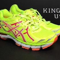 Women's Asics Gt-2000 2  Running Shoes Yellow Pink Size 6 Photo