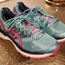Women's Asics Gt 2000 v 4 Running Shoes Size 10 Turquoise Pink T656n Fast Ship Photo