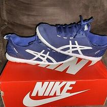 Womens Asics Metrolyte Running Shoe Size 8.5 Blue Synthetic Fitness Preowned Photo