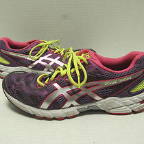 Women's Asics Multi Color Light Weight Athletic Shoes Size 10 Photo