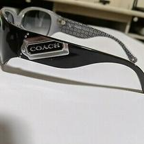 Women's Authentic Coach Sunglasses & Case Style Madeline Black & Gray (S498) Photo