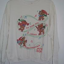 Women's Avon 1990 Beary Merry Christmas Sweatshirt - Teddy Bears - Size Xl Photo