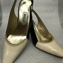 Womens Bally Vero Cuolo High Heel Pump Sz 8 Shoe Made in Italy Preowned Photo