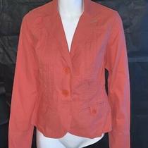 Womens Bandolino Blazer Coat Jacket - Very Nice  Size 4 Pink Photo