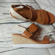 Women's Bandolino Size 8.5 M Sandals Heel Tan  Photo