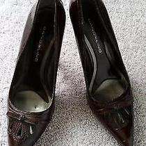 Women's Bandolino Wine/brown Heels- 7.5 Photo