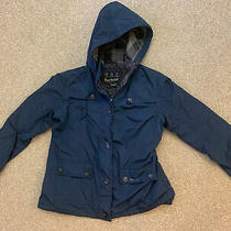 Women's Barbour Oldany Jacket Size 16 Blue Waterproof & Breathable   Photo