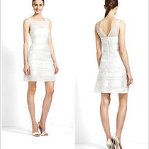Women's Bcbg White Dress Size 4  Photo
