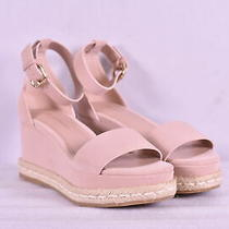 Women's Bcbgeneration Addie Platform Wedges Blush Pink 6.5m Photo