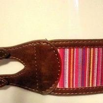 Womens Belt American Rag Pink Combo Taylor Size L Nwt 20 Photo