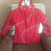 Women's Billabong Red Winter Jacket Photo