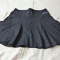 Women's Billabong Skirt-Medium. Black Corset Back Lace Photo