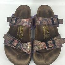 Women's Birkenstock by Papillio Purple Sandal Sz 37 (Us Sz 6-6.5)  Photo
