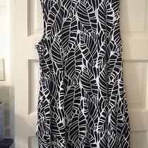 Women's Black and White Bloue by Macy's Style & Co. Size L Photo