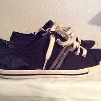Women's Black Coach Shoes Size 8 Photo