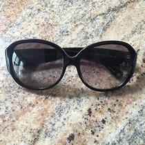 Women's Black Coach Sunglasses Photo