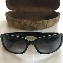 Womens Black Coach Sunglasses With Case Photo