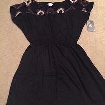 Women's Black Element Dress Nwt Size M Photo