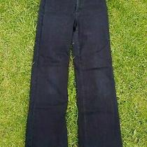 Women's Black Nydj Jeans Uk 10 Us 6 Wider Leg Ladies Not Your Daughters Jeans Photo