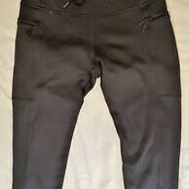 Women's Black Old Navy Activewear Workout Pants Leggings Sz. L Go Dry Photo