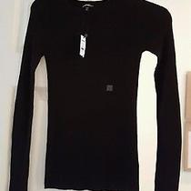 Women's Black Pull Over Ribbed Sweater by Express Size S Nwt Photo