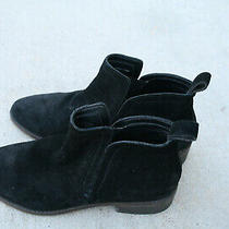 Womens Black Suede Dolce Vita Booties-Size 8.5 Photo