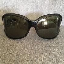 Women's Black Von Zipper Manx Sunglasses W/ Wrap Lens Photo
