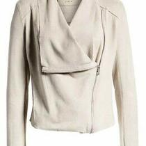 Women's Blanknyc Faux Suede Drape Front Jacket- Tan- Size Small- Nwot Photo