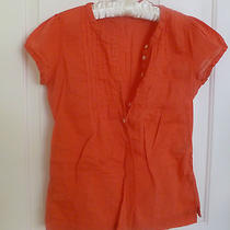 Womens Blouse by h&m  Red With Cup Sleeves  Photo