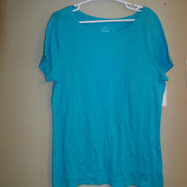 Women's Blouse - Size Xxl - Old Navy Brand - Aqua Blue Photo
