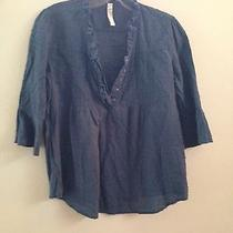 Women's Blue Fossil Blouse Photo