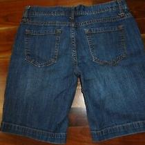 Women's Blue Jean Shorts Size 7 Fit 6 Mossimo 30