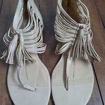 Women's Blush Leather Dolce Vita Gladiator Sandals W/ Tassel Sz 10 Photo