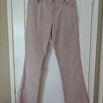 Women's Blush Pink Corduroy Levi's 550 Boot Cut Jeans Photo