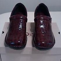 Women's Bolo Croc Clogs - Size 8.5 (Wine) Photo