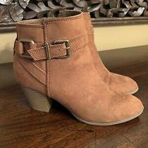 Women's Booties Express Camel  Size 6 Photo
