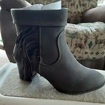 Women's Boots  the Christy Bootie by Comfortview New Size 8.5 Ww Brown Photo