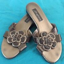 Women's Brighton Clover Sandals Size 7 M Flat Flower Sandals Photo