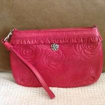 Women's Brighton Pink Small Clutch/wrist Strap Nwot New Lower Price Nice Photo