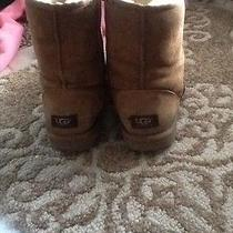 Women's Brown Uggs Winter Boots Photo