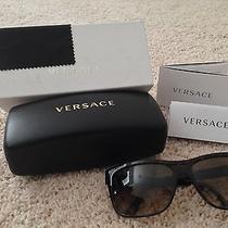 Women's Brown Versace Sunglasses Ve4179 Photo