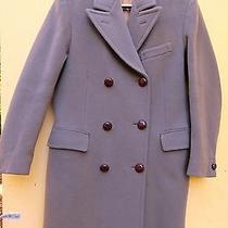 Women's Burberry Pure New Wool Pea Coat Photo