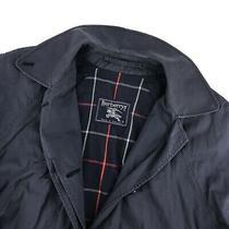Women's Burberrys Trench Coat Burberry Mac Coat Casual Cotton Overcoat Size - 14 Photo