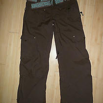 Women's Burton Nylon Cargo Snowboarding Pants - M Photo