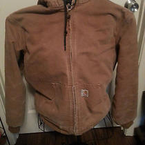 Womens Carhartt Sandstone Brown Active Barn Muck Jacket With Hood Photo