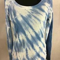 Women's Casual Shirt Med Regular Gap Blue Long Sleeve Photo