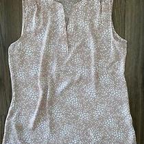 Women's Chaus New York Blouse Sleeveless Tank Top Shirt Blush Pink Small S Euc Photo