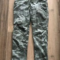 Womens Chino Khaki Jeans Trousers From Gap Size 10 Green Photo