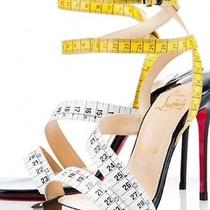 Women's Christian Louboutin Tape Measure 4
