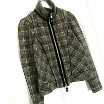 Women's Claire Campbell High Use Wool Blend Cropped Jacket. Uk 12-14. Vgc. Photo